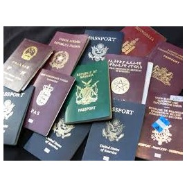 Non Uk Passport /Visa with prints
